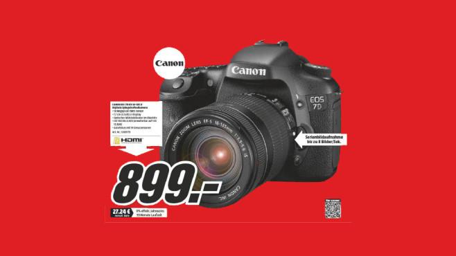 Canon EOS 7D Kit 18-135 mm ©Media Markt