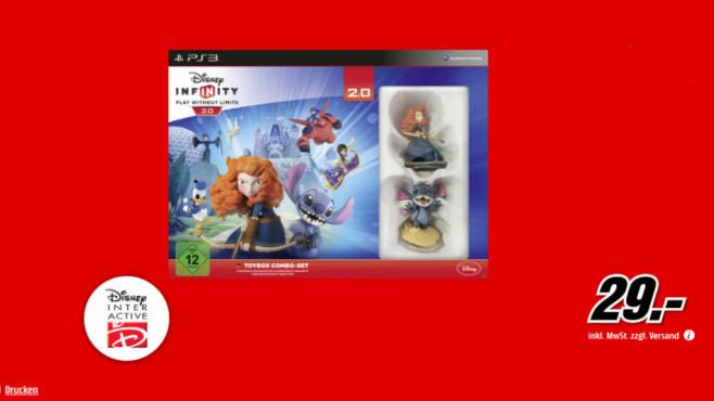 Disney Infinity 2.0 – Disney Originals Toybox Combo Pack (PS3) ©Media Markt