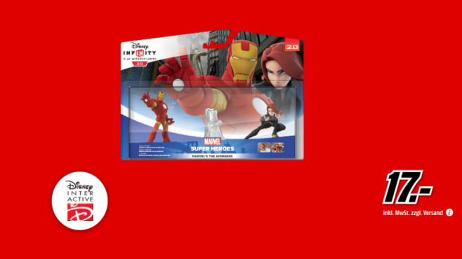 Disney Infinity 2.0 – Marvel Super Heroes  Marvel's The Avengers Playset ©Media Markt