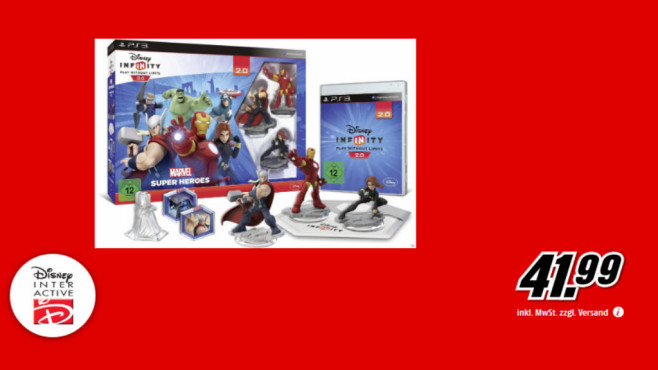 Disney Infinity 2.0 – Marvel Super Heroes (PS3) © Media Markt
