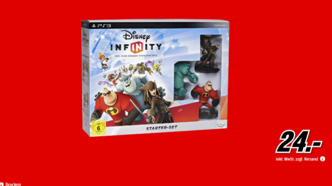 Disney Infinity Starter-Set (PS3) © Media Markt