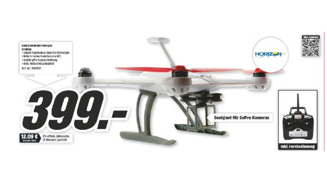E-flite Blade 350 QX2 3.0 M2 RTF ©Media Markt