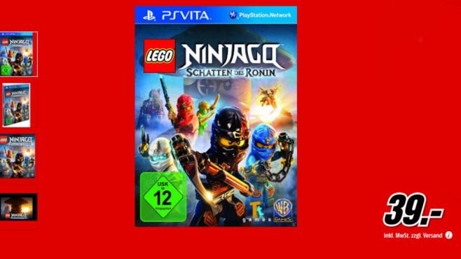 Lego Ninjago: Schatten des Ronin (PS Vita) ©Media Markt
