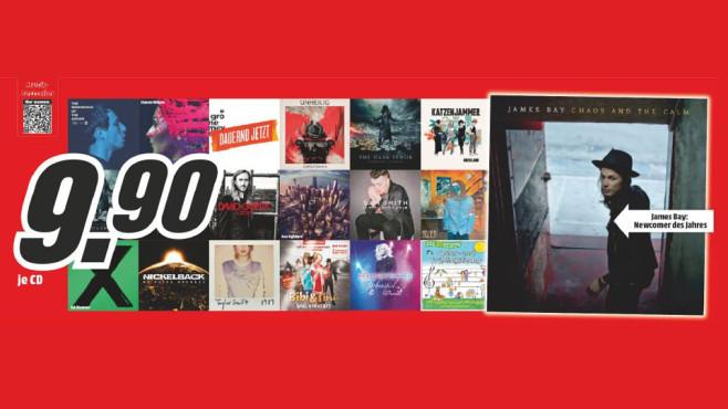 Musik-Bestseller ©Media Markt