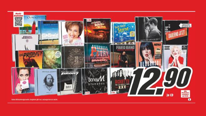 Musik-Neuheiten ©Media Markt