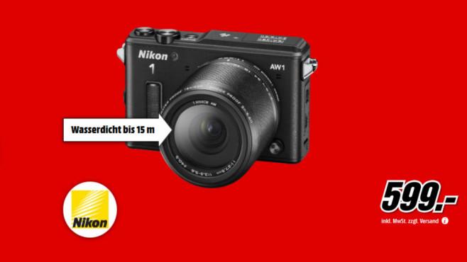 Nikon 1 AW1 Kit 11-27,5 mm ©Media Markt