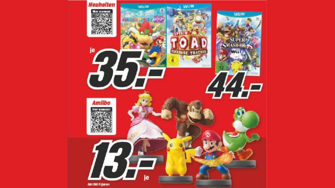 Nintendo Amiibo-Figuren ©Media Markt