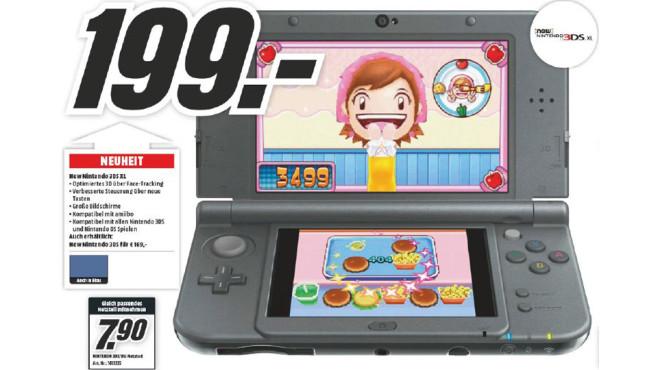 Nintendo New 3DS XL ©Media Markt