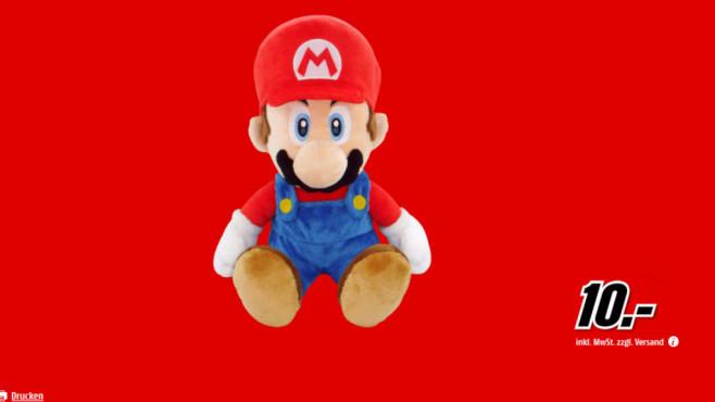 Nintendo Pl�schfigur Super Mario (21cm) ©Media Markt