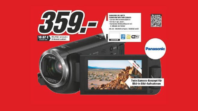 Panasonic HC-W570 ©Media Markt