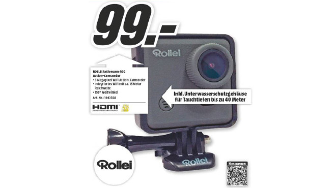 Rollei Actioncam 400 © Media Markt