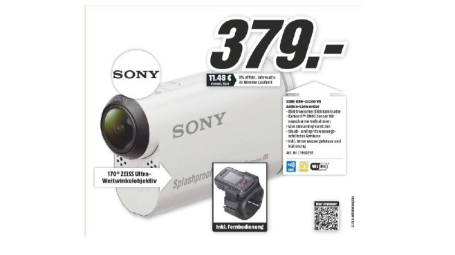 Sony HDR-AS200VR Remote Edition ©Media Markt