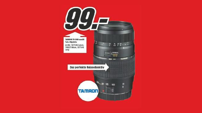Tamron AF 70-300mm f4.0-5.6 Di LD Macro [Canon] ©Media Markt