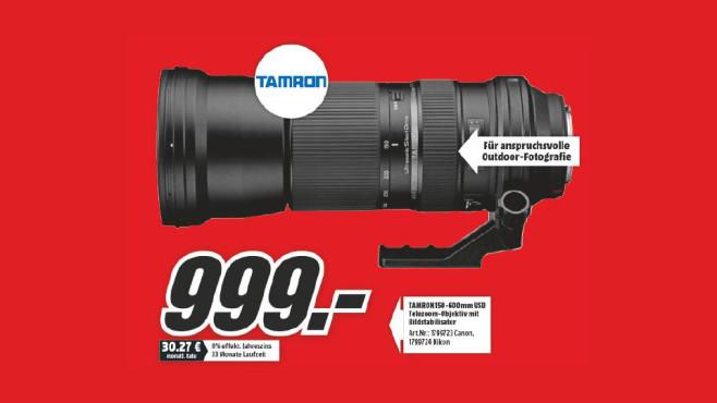 Tamron SP 150-600mm f5-6.3 Di VC USD [Canon] ©Media Markt
