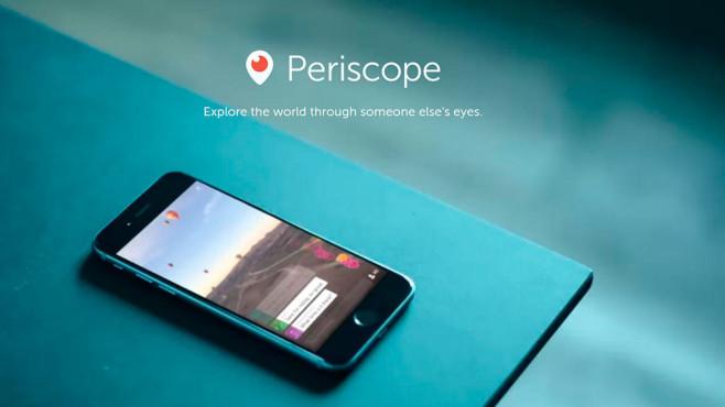 Twitters Video-App Periscope ©Screenshot: periscope.tv