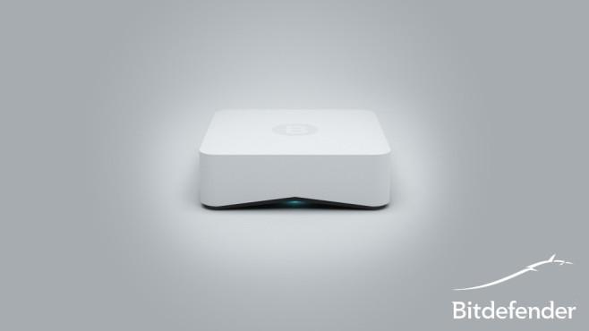 Bitdefender BOX: Virenschutz fürs Heimnetz Die kleine Hardware-Box soll alle Geräte im Heimnetzwerk schützen. ©Bitdefender / COMPUTER BILD