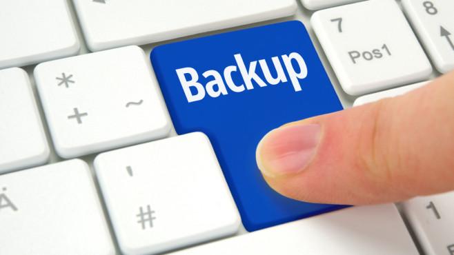 Backup per Taste ©VRD – Fotolia.com