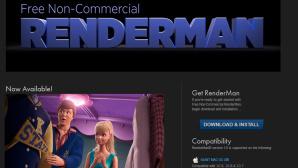 Pixars Renderman als kostenloser Download ©Pixar