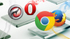 Nach dem IE-Aus: Browser-Alternativen © kentoh - Fotolia.com, Mozilla, Google, Opera, Comodo