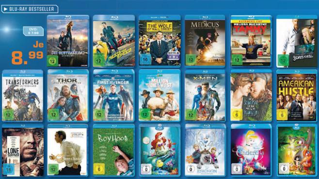 Blu-rays ©Saturn