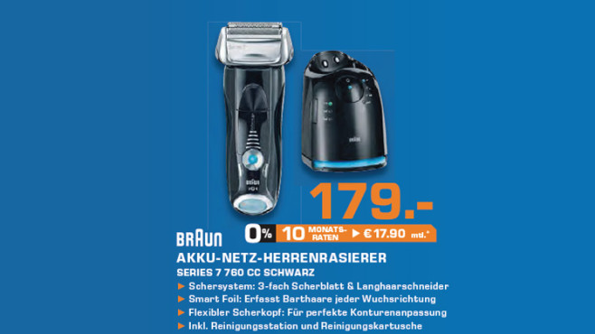 Braun 760cc-6 Series 7 © Saturn