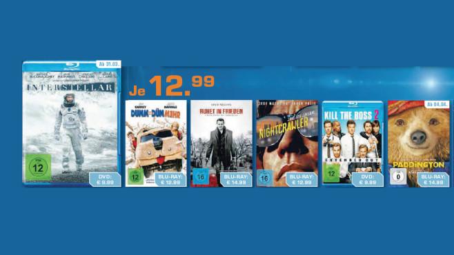 DVDs & Blu-rays ©Saturn