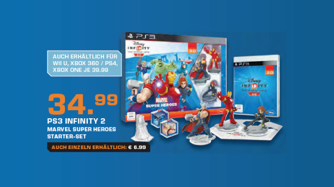 Disney Infinity 2.0: Marvel Super Heroes (PS3) © Saturn