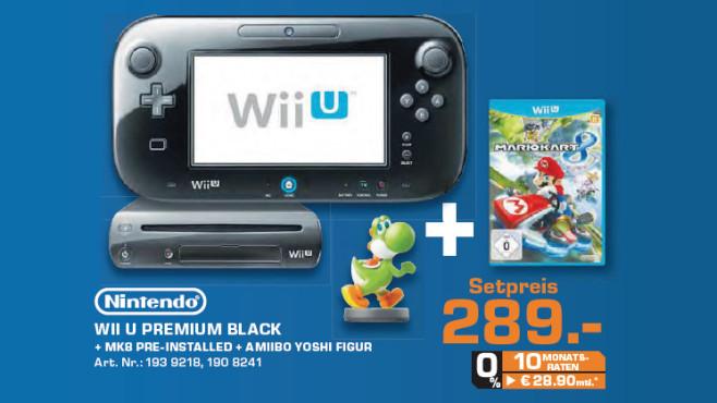 Nintendo Wii U Mario Kart 8 Premium Pack ©Saturn