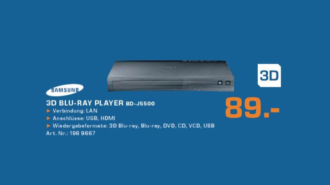 Samsung BD-J5500/EN ©Saturn