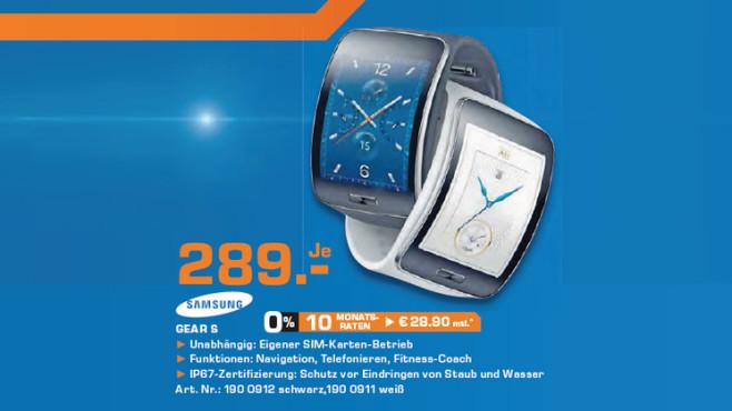 Samsung Gear S ©Saturn