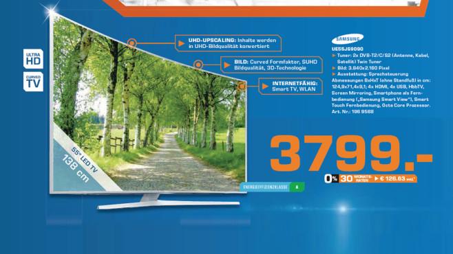 Samsung UE55JS9090 ©Saturn