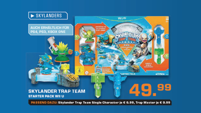 Skylanders: Trap Team � Starter Pack (Wii U) © Saturn