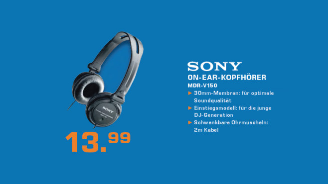 Sony MDR-V150 ©Saturn