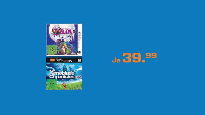 Spiele für den New Nintendo 3DS ©Saturn