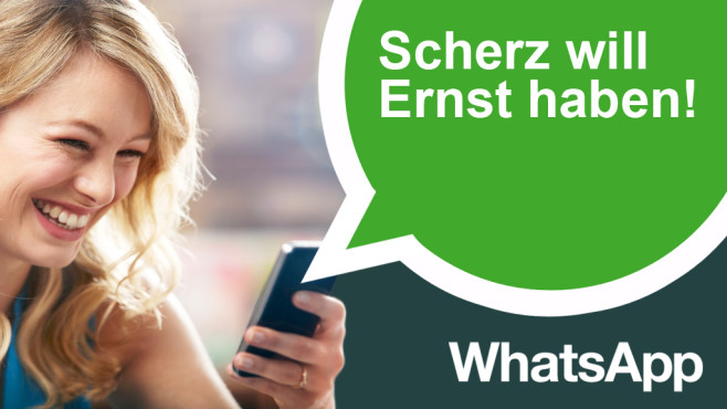 WhatsApp-Scherzsprüche zum 1. April © Ezra Baily/gettyimages