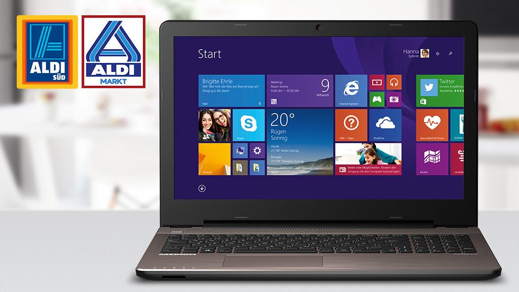 computer aldi neues notebook medion akoya zieht tempo