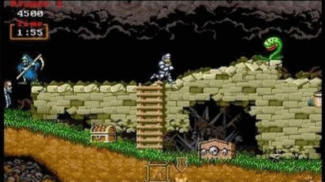 Ghouls and Ghosts Remix: Ritter ©Valarsoft