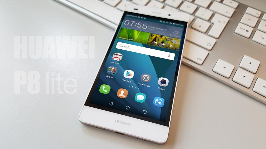 Huawei P8 Lite Test - COMPUTER BILD Huawei P7 White