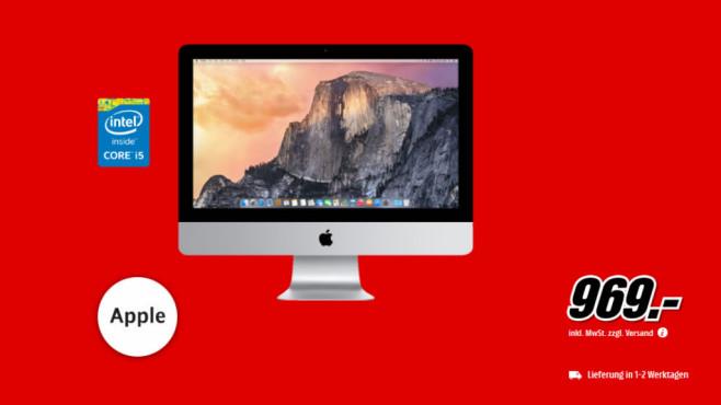 """Apple iMac 21,5"""" ©Media Markt"""