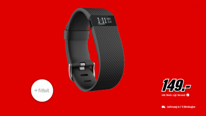 Fitbit Charge HR © Media Markt