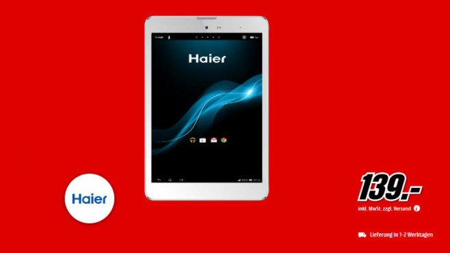 Haier Mini Pad D85 © Media Markt
