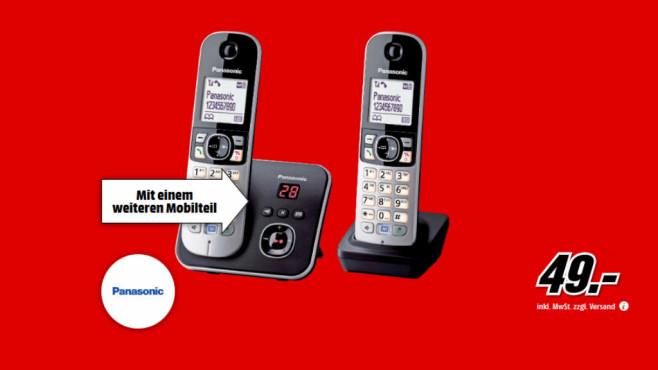 Panasonic KX-TG6822 ©Media Markt