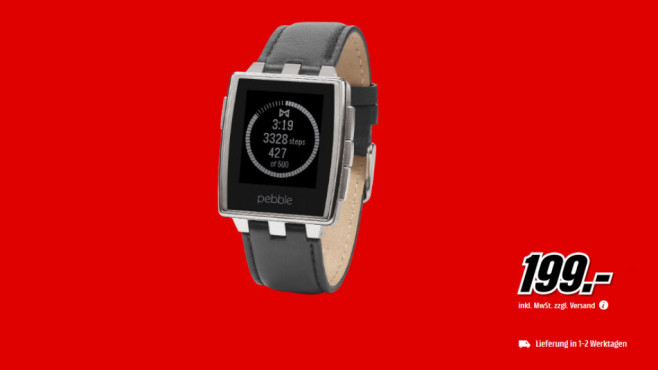Pebble Steel © Media Markt