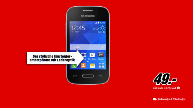 Samsung Galaxy Pocket 2 © Media Markt