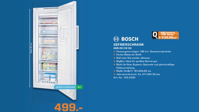 Bosch GSN29VW30 ©Saturn