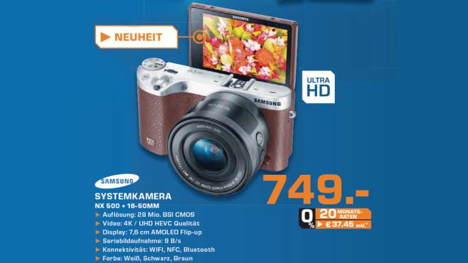 Samsung NX500 ©Saturn