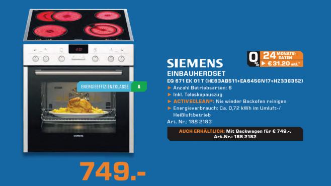 Siemens EQ 671EK01T ©Saturn