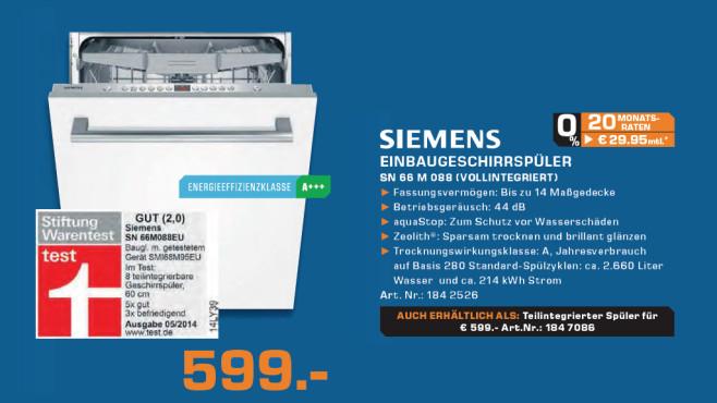 Siemens SN56N582EU ©Saturn