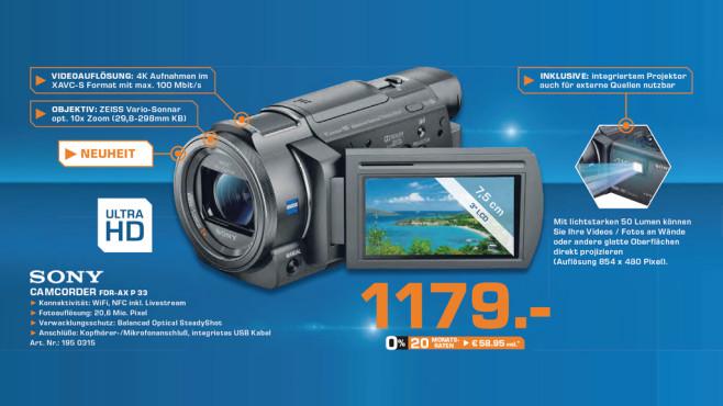 Sony FDR-AXP33 ©Saturn