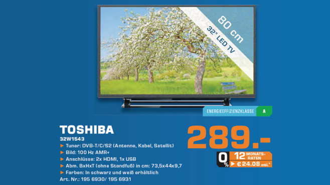 Toshiba 32W1543DG ©Saturn